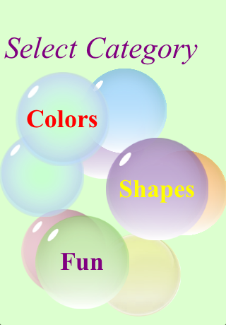 Screenshot Learn Colors and Shapes for Kids Free